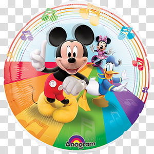 Mickey Mouse universe Minnie Mouse Balloon Character, mickey mouse PNG