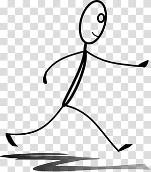 Stick figure Running Drawing , Aljazeeracom PNG
