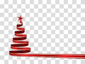 christmas ribbon PNG
