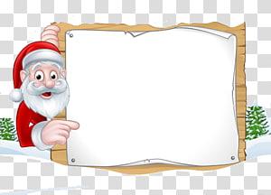 cartoon santa claus PNG clipart