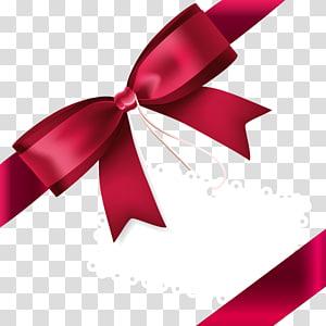 Ribbon Red, Fine ribbon bow PNG