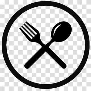 spoon and fork logo, Eating Computer Icons Spoon Fork, lunch PNG