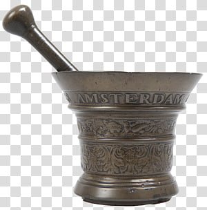 Mortar and pestle Bronze 16th century Auglenīca sculpture, mortar and pestle PNG clipart
