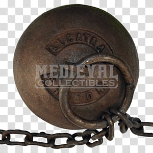 Alcatraz Federal Penitentiary Ball and chain Prisoner, chain PNG clipart