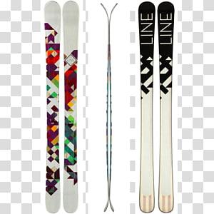Ski Bindings Line Skis Ski Poles Skiing, skiing PNG