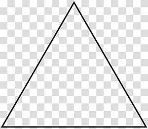 Equilateral triangle Shape Polygon Sierpinski triangle, triangle PNG