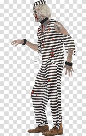 Halloween costume Clothing Party Suit, prison outfit PNG clipart