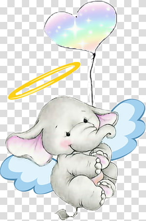 illustration Balloon, balloon Elephant PNG clipart
