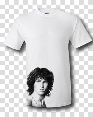 T-shirt Jim Morrison Hoodie Sleeve Clothing, Lead Vocals PNG clipart