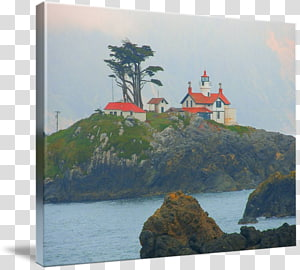 Battery Point Light Lighthouse Painting Tourism Loch, sea lighthouse PNG clipart