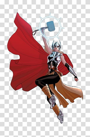 Jane Foster Thor: God of Thunder Marvel Comics, others PNG clipart