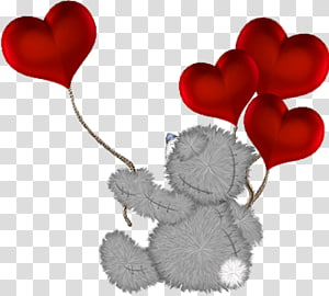 Teddy bear Valentine\'s Day , bear PNG clipart