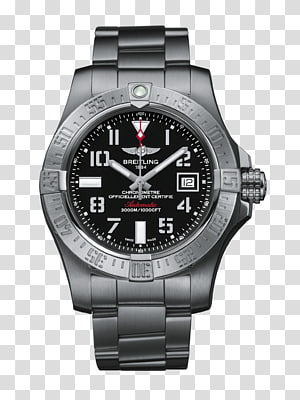 Breitling SA Breitling Avenger II Automatic watch Chronograph, Breitling Chronomat PNG