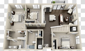 House plan Loft Floor plan Apartment, apartment PNG clipart