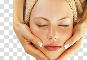 Facial Stone massage Day spa Exfoliation, face skin care PNG clipart