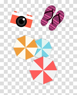 Baby bedding Quilting Embroidery Pattern, Cameras and slippers PNG
