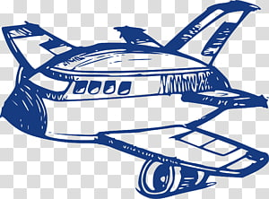 Airplane Fixed-wing aircraft Flight, planes PNG