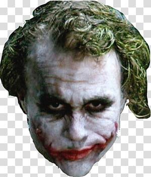 Joker Heath Ledger The Dark Knight Batman Harley Quinn, joker PNG clipart