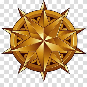 shield five-pointed star PNG clipart
