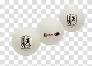 Killerspin 204-01 Standard Size 4-Star Table Tennis Ball (Pack of 3), White Killerspin Hardball 4 Star 40+ Ping Pong, ball PNG clipart