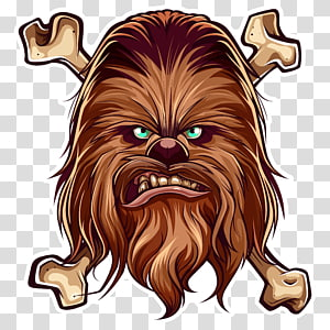 Chewbacca Anakin Skywalker Han Solo Leia Organa Boba Fett, chewbacca PNG