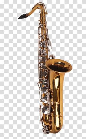 Baritone saxophone Musical instrument Wind instrument Tenor horn, Musical instruments saxophone PNG