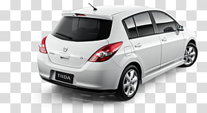 Nissan Tiida Alloy wheel Compact car, Nissan Tiida PNG