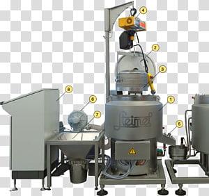 Steimel Chocolate Centrifuge Machine Pump, chocolate PNG