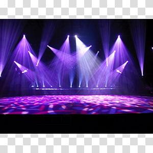 stage light, Stage lighting DJ lighting Disc jockey, stage background PNG clipart