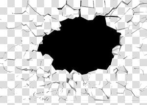 broken wall material PNG clipart