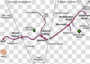 Infrastructure of the Brill Tramway Brill railway station Wotton railway station Quainton Road railway station, others PNG clipart