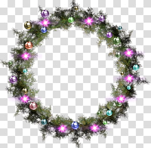 Christmas Day Christmas ornament Santa Claus Wreath, santa claus PNG