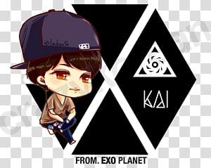 XOXO EXO S.M. Entertainment K-pop Logo, Exo Chibi PNG clipart