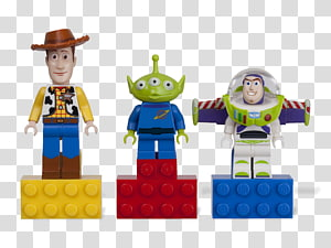 Sheriff Woody Buzz Lightyear Lego minifigure Lego Toy Story, toy story PNG clipart