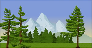Drawing , mountain PNG clipart