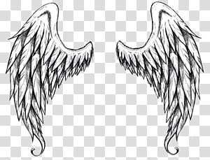 Drawing Outline Angel , angel PNG