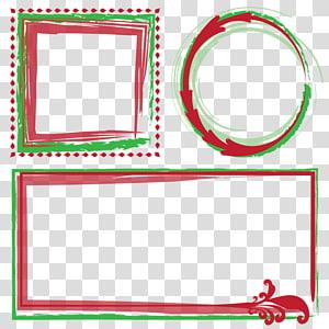 frame christmas PNG