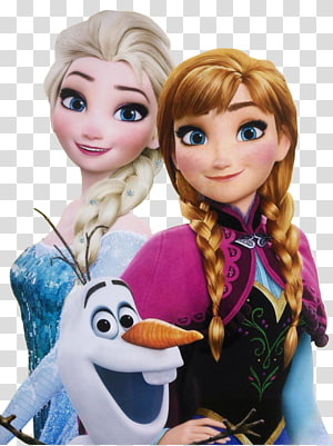 Disney Frozen Elsa, Anna, and Olaf illustration, Elsa Kristoff Hans Anna Frozen, elsa anna PNG clipart