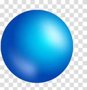 Sphere Blue , blue PNG clipart