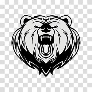 Bear Logo, bear PNG