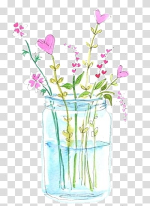 Flower bouquet Illustration, Watercolor hand-painted floral flower arrangement PNG clipart