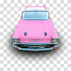 pink convertible, pink classic car automotive exterior compact car, Camaro PNG clipart