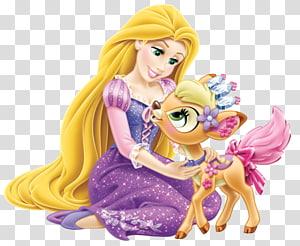 Rapunzel illustration, Rapunzel Princess Jasmine Belle Ariel Disney Princess Palace Pets, rapunzel PNG clipart