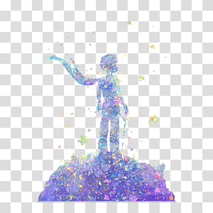 watercolor little prince PNG clipart
