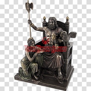 Statue of Zeus at Olympia Hera Statue of Zeus at Olympia Greek mythology, Minoan Snake Goddess Figurines PNG clipart