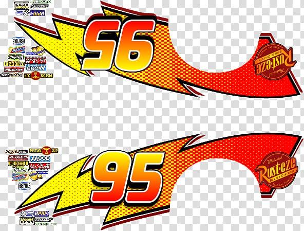 Lightning McQueen decals, Lightning McQueen Wall decal Sticker Pixar, mcqueen 95 PNG