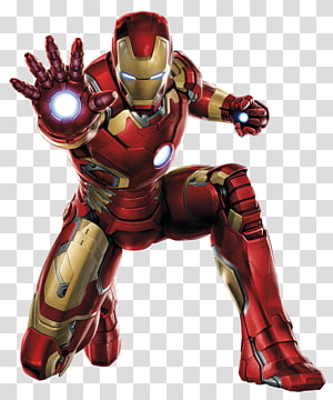 Marvel Iron-Man, Iron Man Clint Barton Black Widow Thor Captain America, High Resolution Iron Man PNG clipart