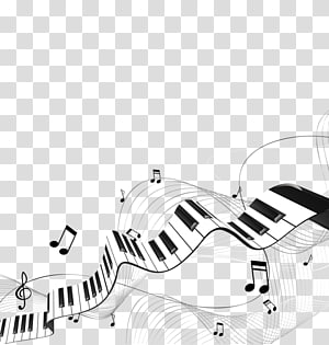 song music notes PNG
