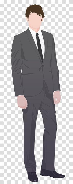 Suit Necktie Tuxedo Costume Clothing, it's a girl PNG