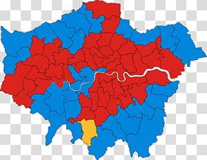 London Borough of Bexley London Borough of Southwark Royal Borough of Kensington and Chelsea London boroughs Map, London England PNG clipart
